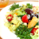 Orange greek salad