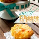 Garlic cheese muffins